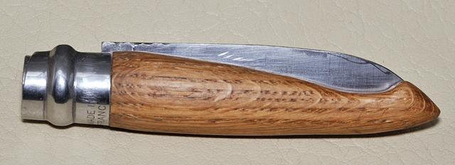 Opinel chêne phase 3