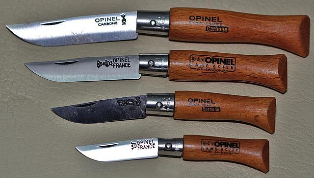 Opinel 2 à 5 carbone